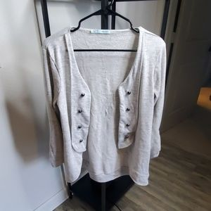 Maurices Military Cardigan